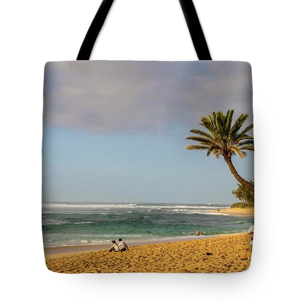An Afternoon At Sunset Beach Tote Bag