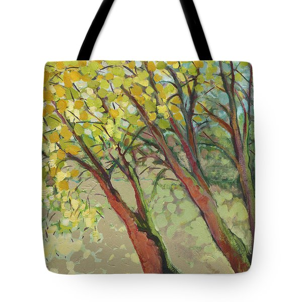 An Afternoon At The Park Tote Bag