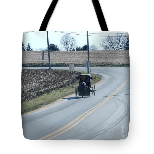 An Afternoon Buggy Ride Tote Bag