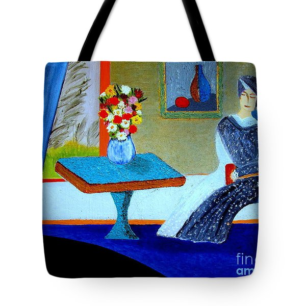 Tote Bag featuring the painting An Afternoon In May by Bill OConnor