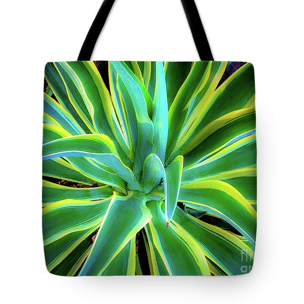 An Agave In Color  Tote Bag