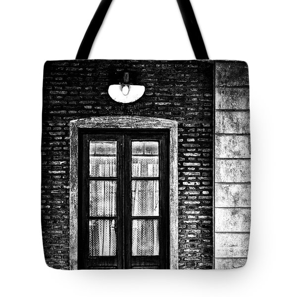 An Aged Restaurant In Gouin Tote Bag