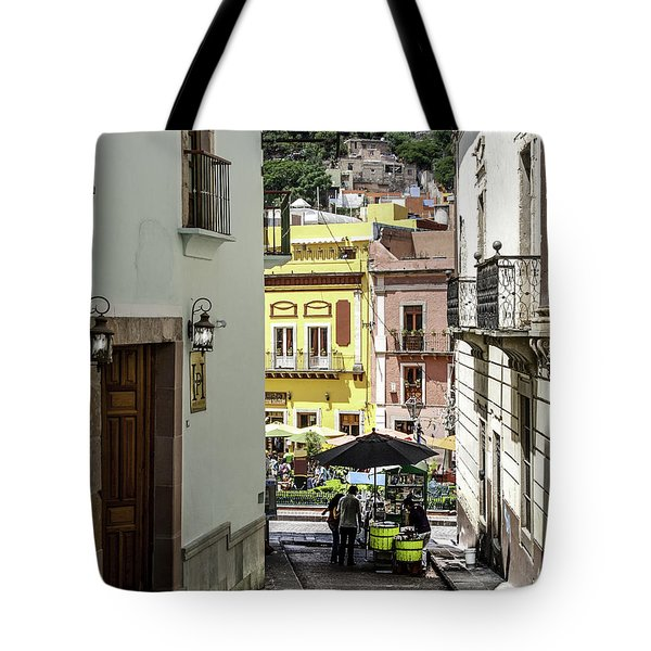 An Alley And Ice Cream Tote Bag