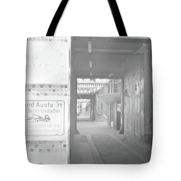 An Alley To A Backstreet Tote Bag