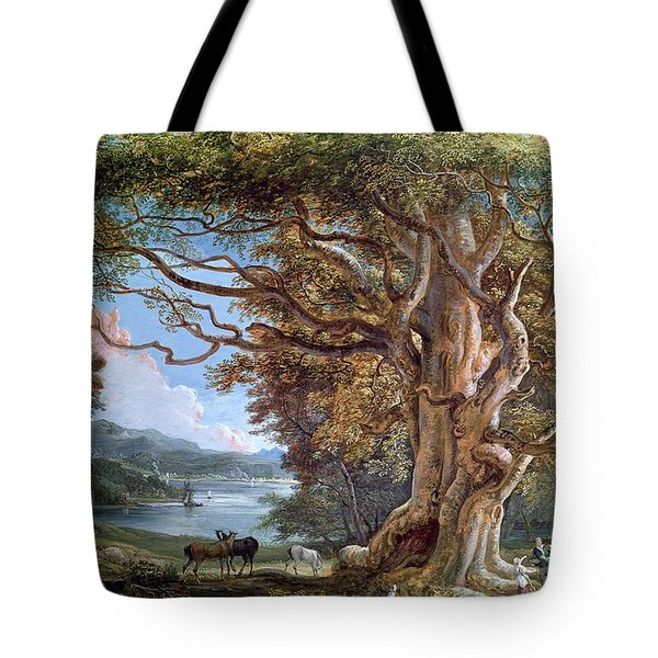 An Ancient Beech Tree Tote Bag by Paul Sandby