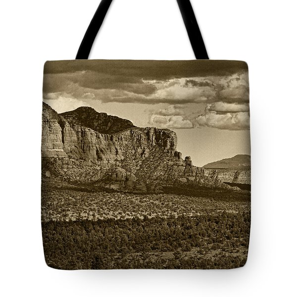 An Ancient View Tint Tote Bag