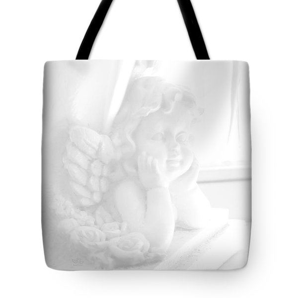 Tote Bag featuring the photograph An Angel Awaits by Beauty For God