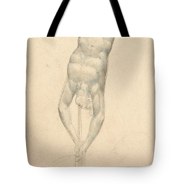 An Angel With A Trumpet Tote Bag