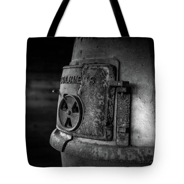 Tote Bag featuring the photograph An Antique Stove by Doug Camara