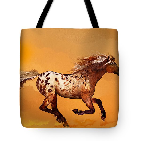 An Appaloosa Called Ginger Tote Bag