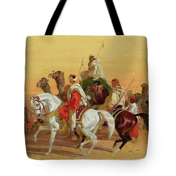 An Arab Caravan Tote Bag