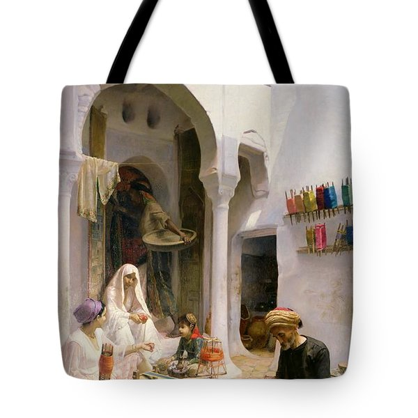 An Arab Weaver Tote Bag by Armand Point