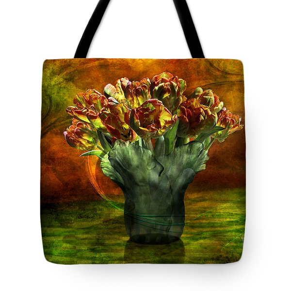 An Armful Of Tulips Tote Bag