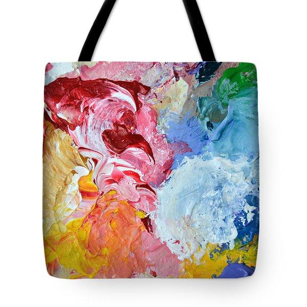 An Artful Blend Tote Bag