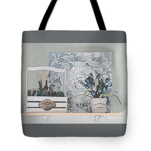 An Artist's Shelf Tote Bag
