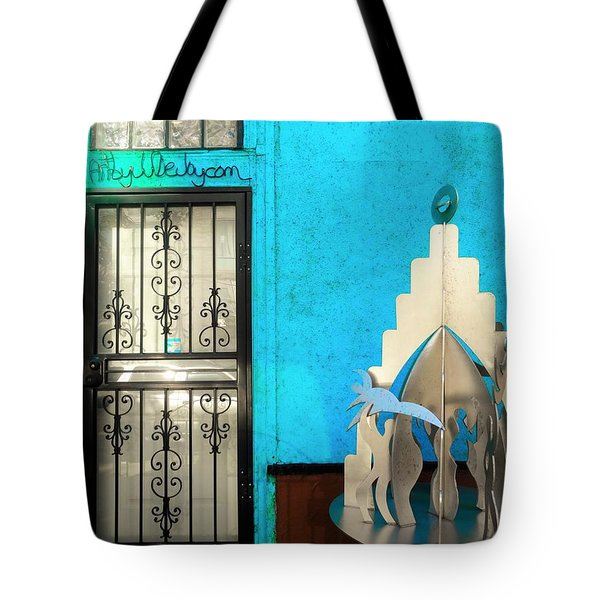 An Artsy House In Brooklyn New York  Tote Bag