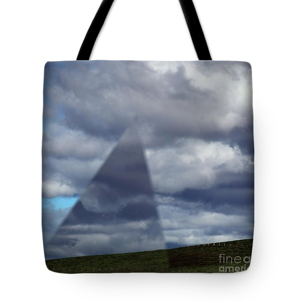 An Aspect Of Time Clouds Dimension Tote Bag by Wernher Krutein