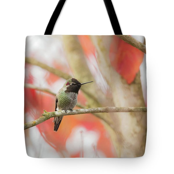 Tote Bag featuring the photograph An Autumn Afternoon by Angie Vogel
