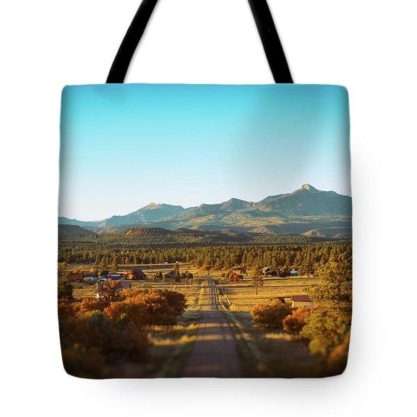 An Autumn Evening In Pagosa Meadows Tote Bag