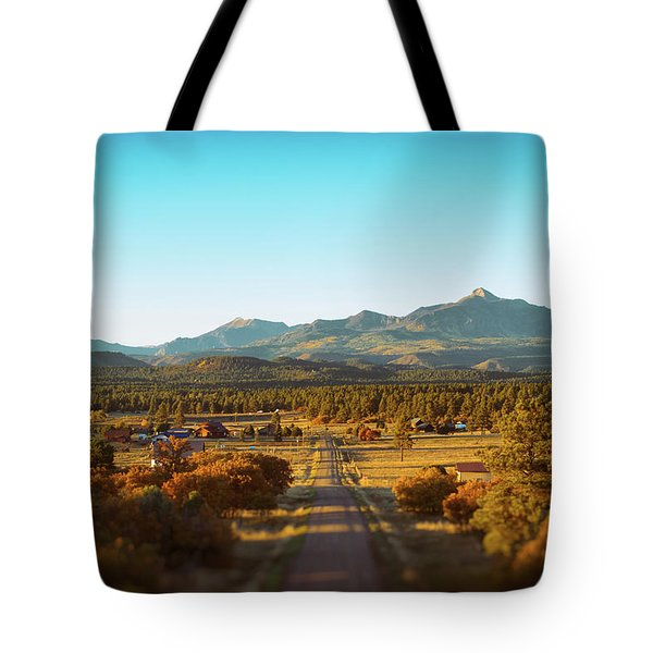 An Autumn Evening In Pagosa Meadows Tote Bag by Jason Coward
