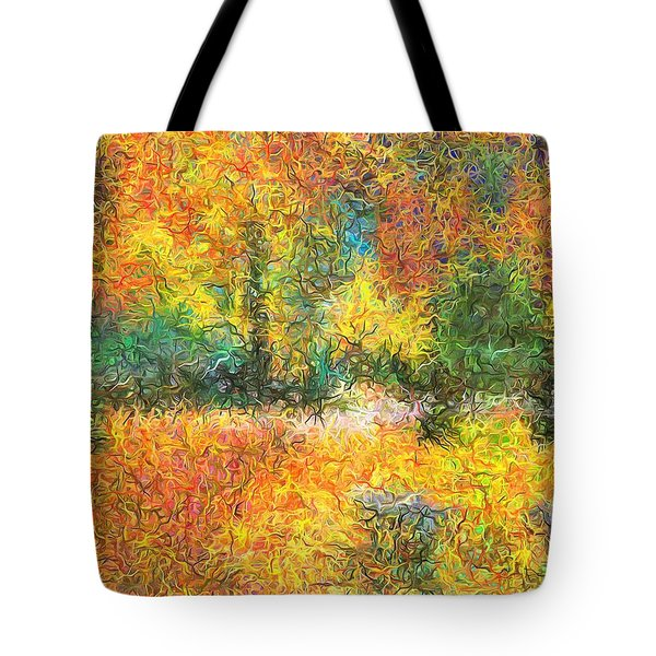 An Autumn In The Park Tote Bag