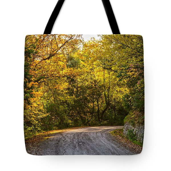 An Autumn Landscape - Hdr 2  Tote Bag by Andrea Mazzocchetti