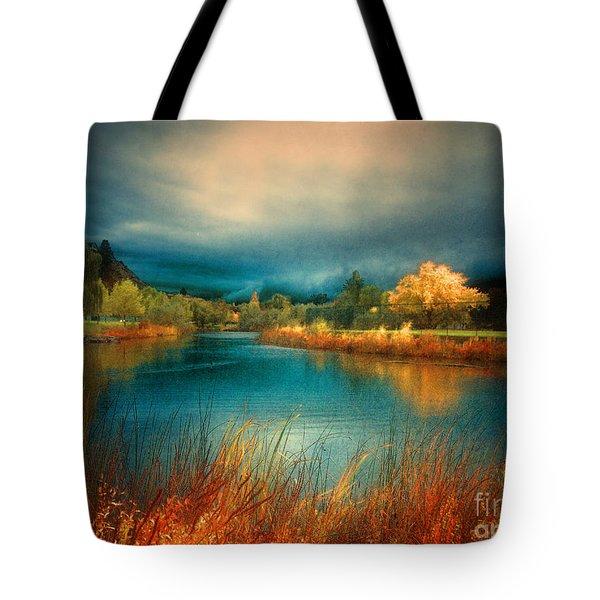 An Autumn Storm Tote Bag