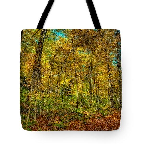 An Autumn Walk Tote Bag
