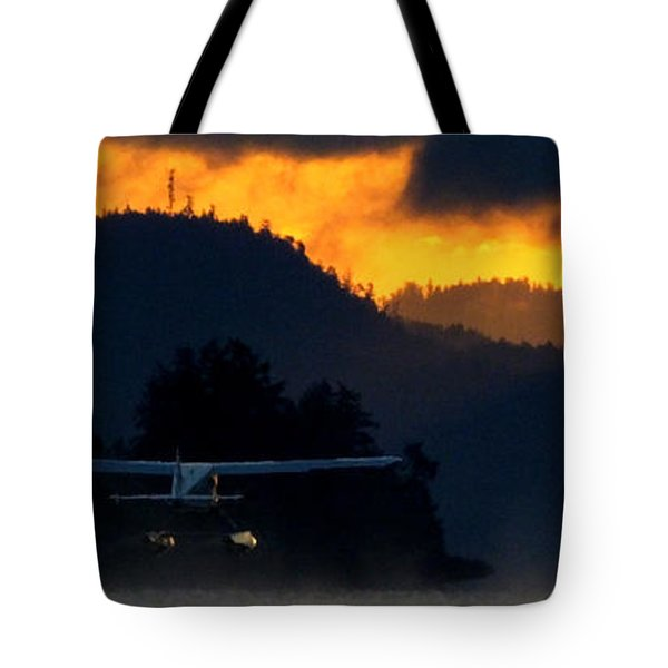 Another Early Departure Tote Bag