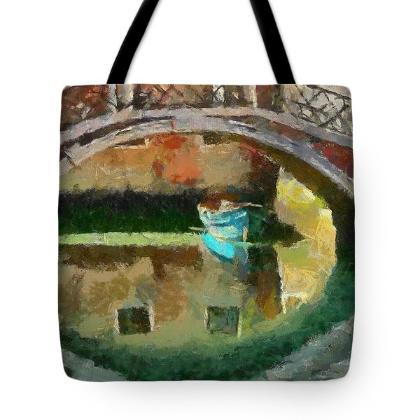 An Early Morning In Venice Tote Bag