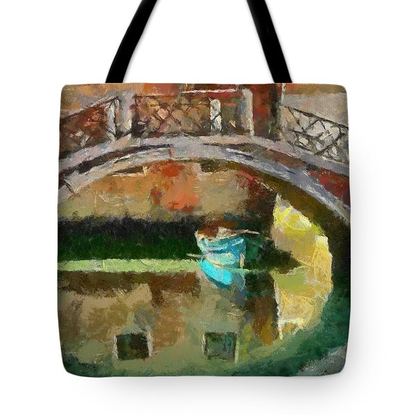 An Early Morning In Venice Tote Bag by Dragica  Micki Fortuna