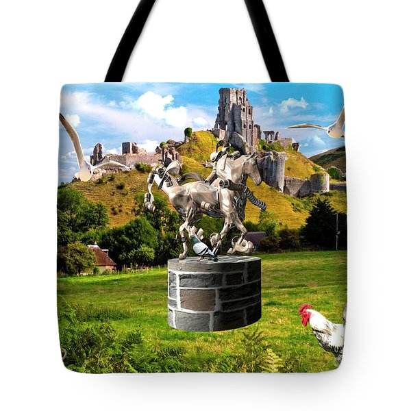 An Echo Of Past Time Tote Bag
