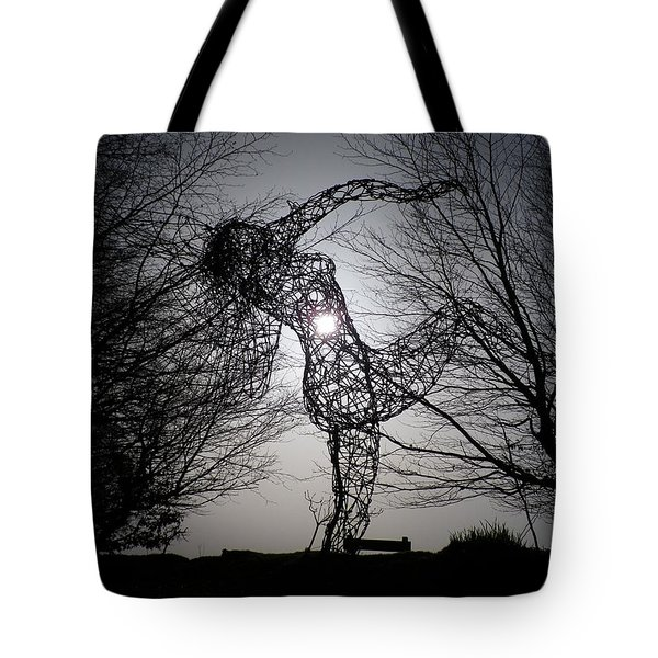 An Eclipse Of The Heart? Tote Bag by Richard Brookes