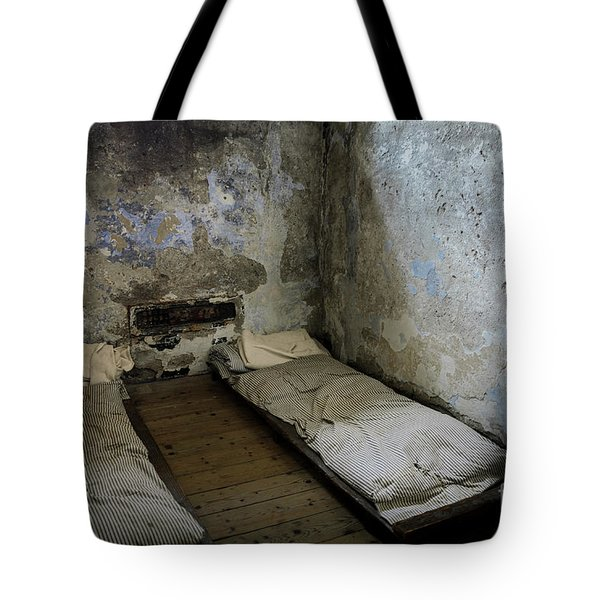 Tote Bag featuring the photograph An Empty Cell In Cork City Gaol by RicardMN Photography