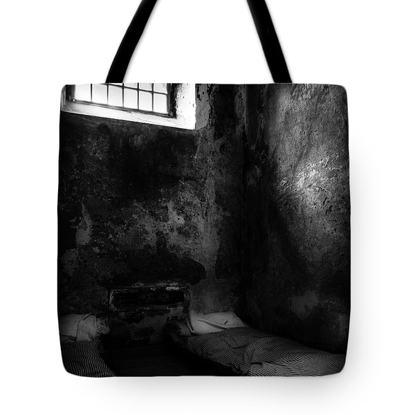 Tote Bag featuring the photograph An Empty Cell In Old Cork City Gaol by RicardMN Photography