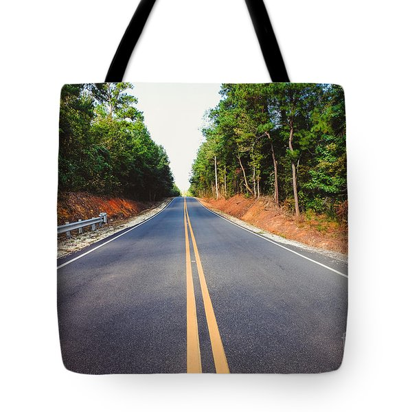 An Empty Road Tote Bag