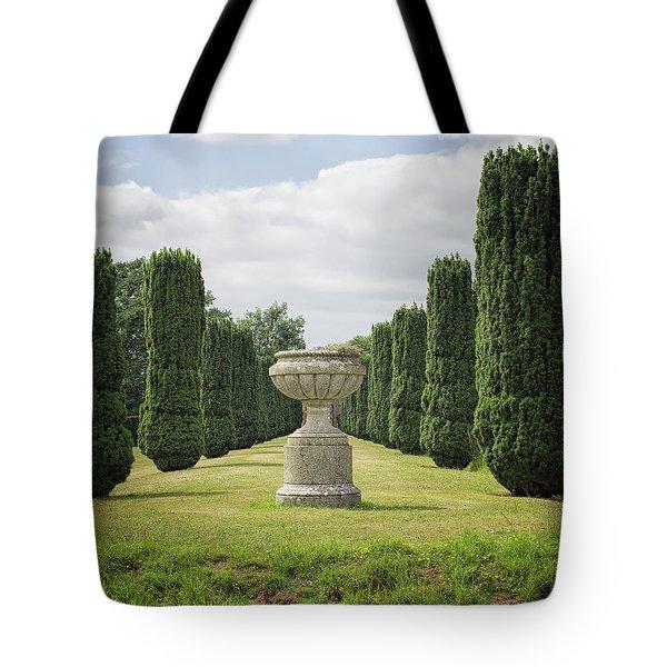An English Country Garden Tote Bag