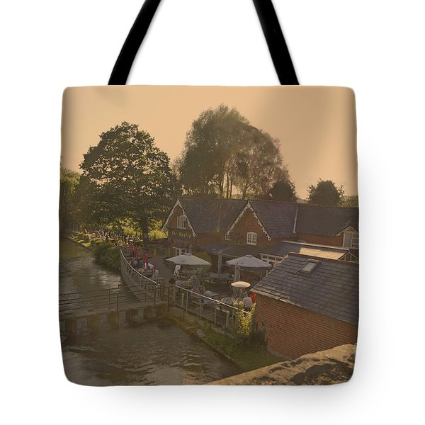 An English Public House Tote Bag