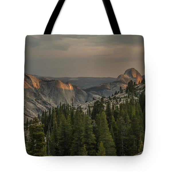 An Evening At Olmstead Point - Pt 3 Tote Bag