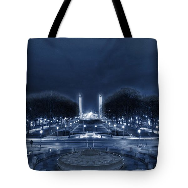 An Evening At The Capitol Tote Bag