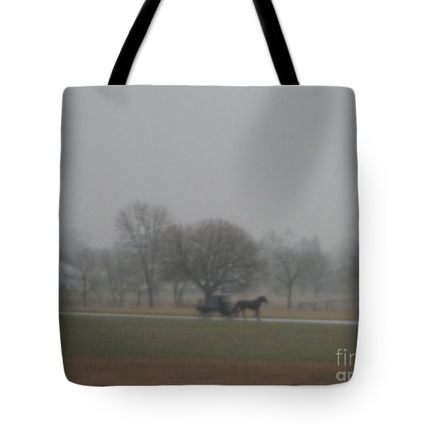 An Evening Buggy Ride Tote Bag