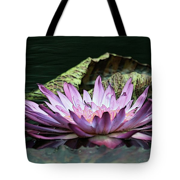 An Evening Glow Tote Bag by Yvonne Wright