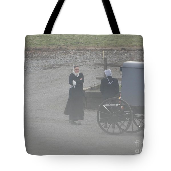 An Evening Goodbye Tote Bag