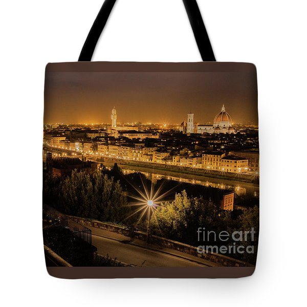 An Evening In Florence Tote Bag