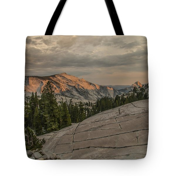 An Evening On Olmstead Point - Pt 2 Tote Bag
