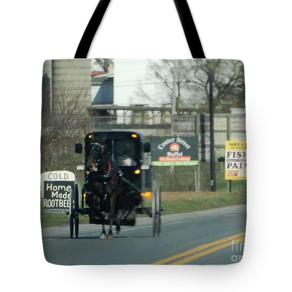 An Evening Ride Tote Bag