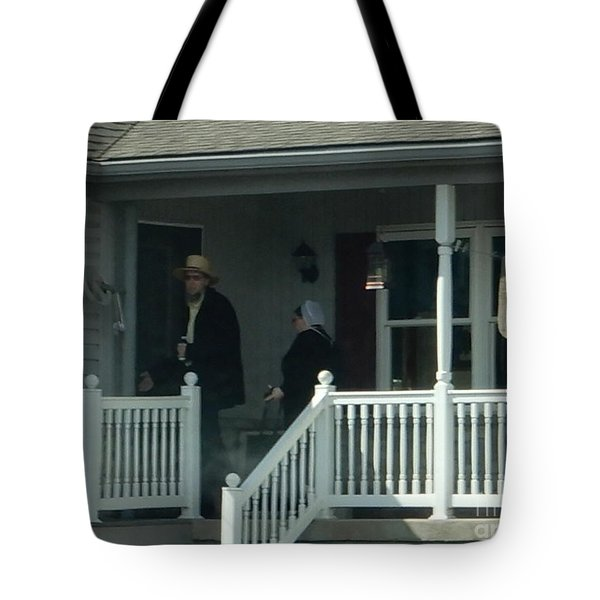 An Evening Visit Tote Bag