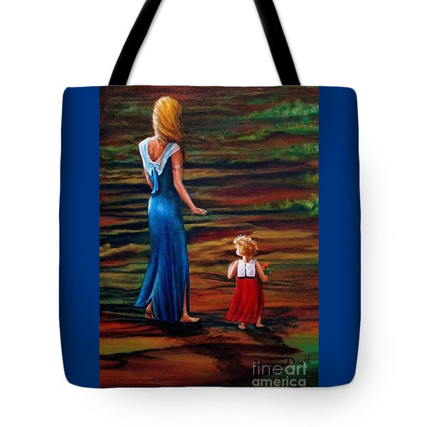 An Evening Walk Tote Bag