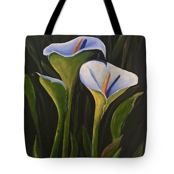 An Evening With Calla Tote Bag