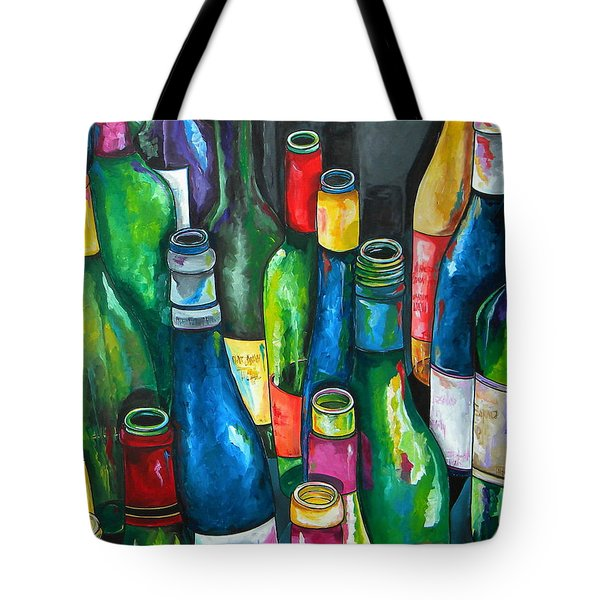 An Evening With Friends Tote Bag by Patti Schermerhorn